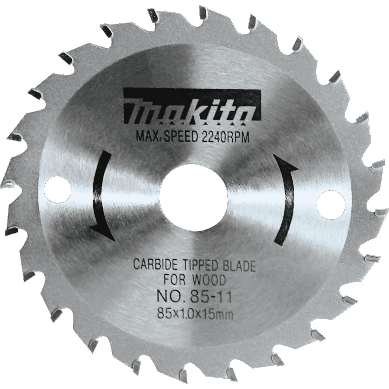 Makita 10-1//4 in 24 Teeth Framing Circular Saw Blade Wood Cutting Tool Accessory