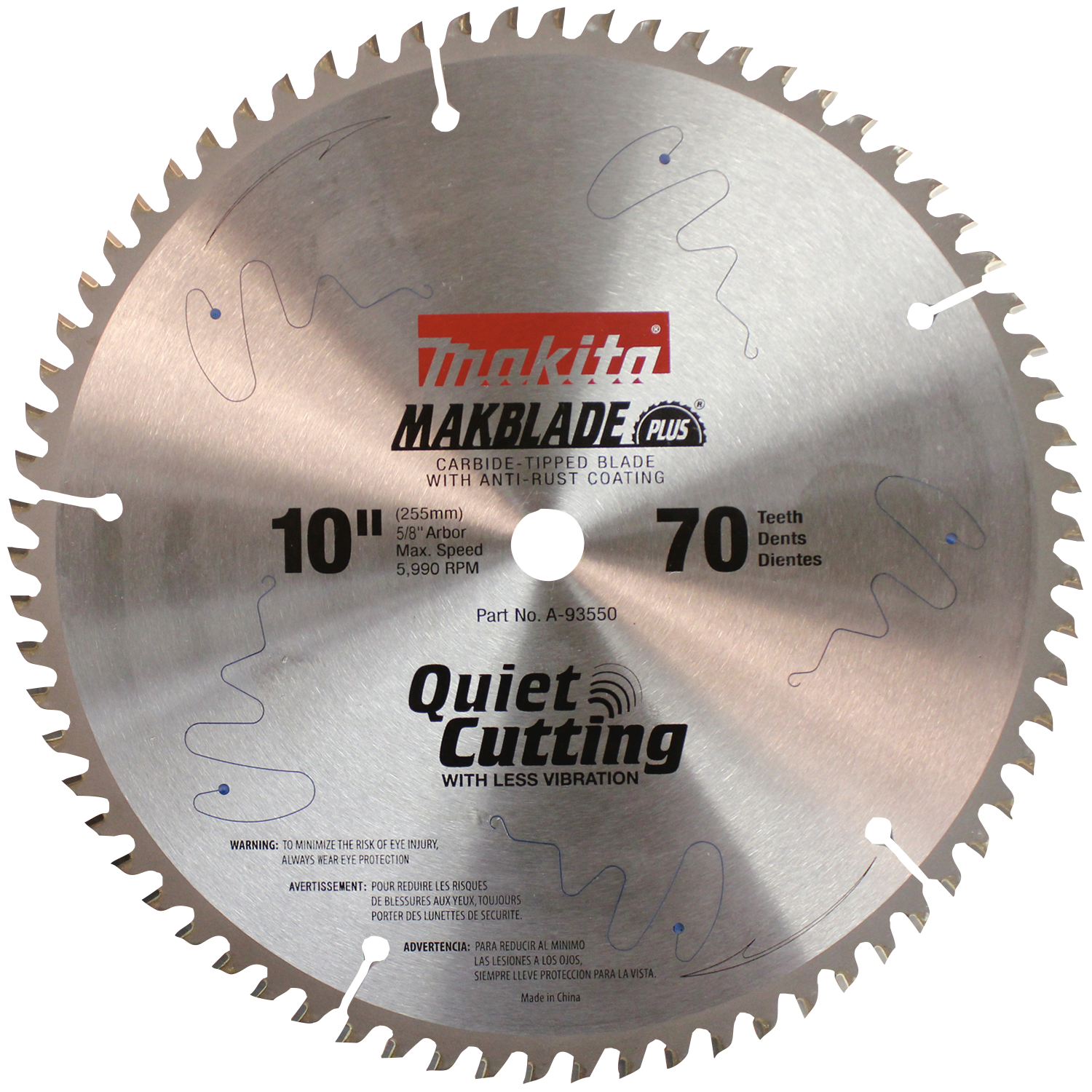 Makita usa product details a 93550 miter saw blade a 93550 greentooth Gallery