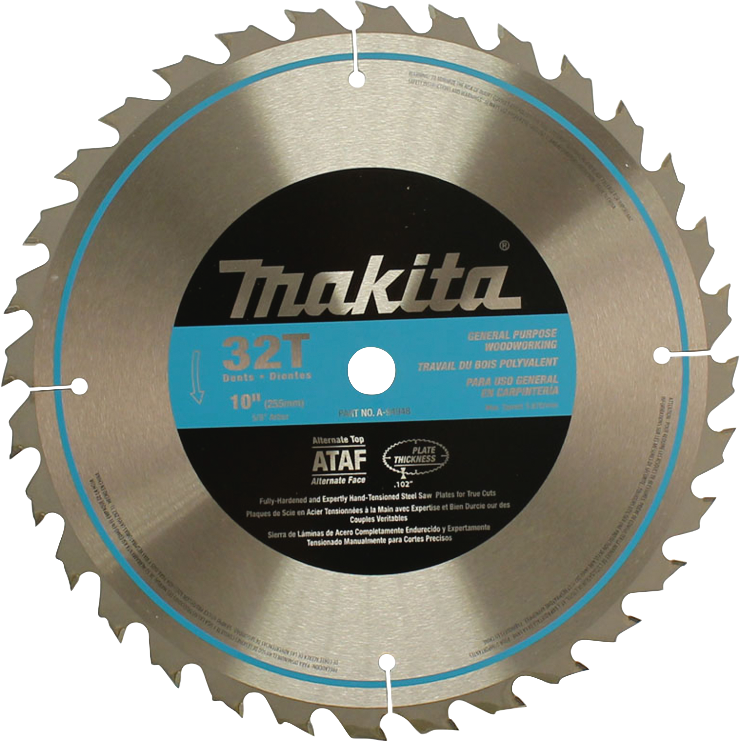 Makita usa product details a 94948 table saw blade a 94948 greentooth Image collections