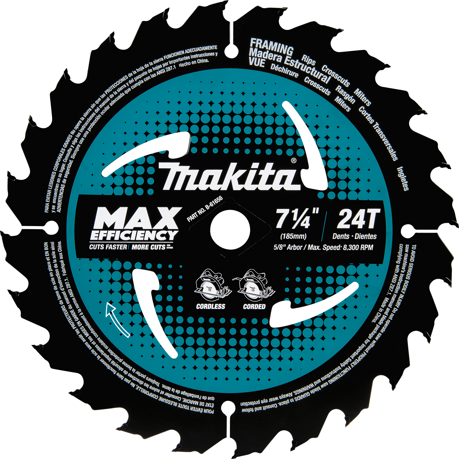 Makita Usa Product Details B 61656