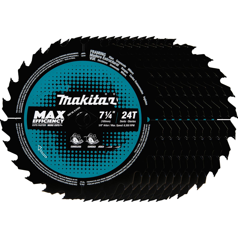 Makita usa product details b 61656 10 circular saw blade framing b 61656 10 greentooth Choice Image