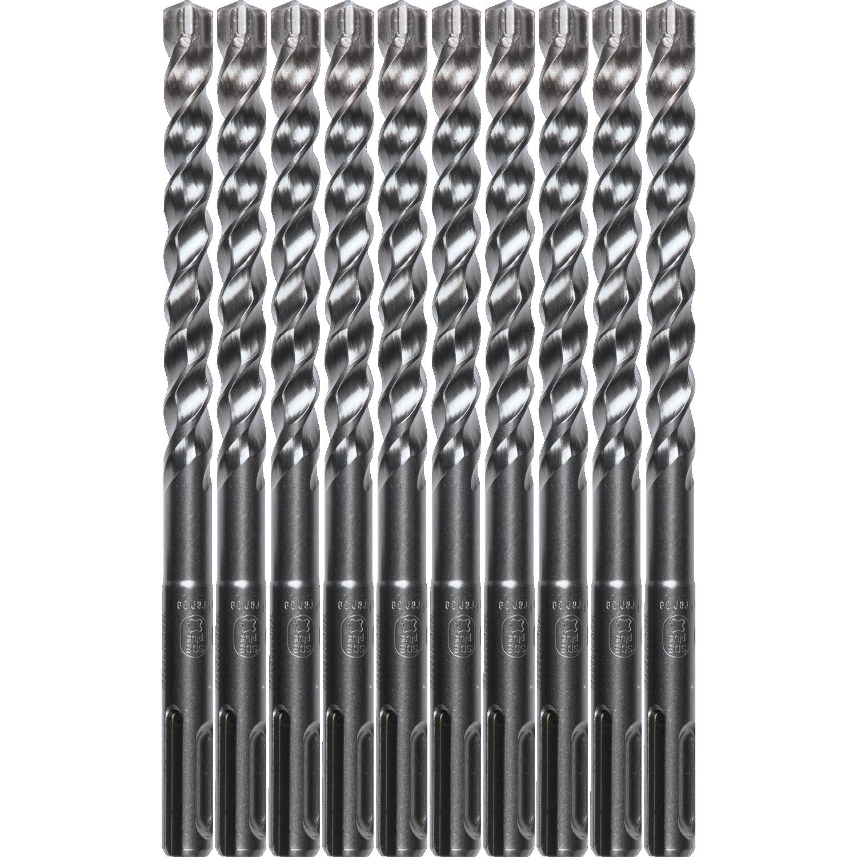 3-Cutter 10//Pk Makita B-61260 3//8 x 12 SDS-Plus Bit