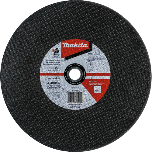 "14"" x 1"" x 3/32"" Abrasive Cut-Off Wheel, 25/pk"