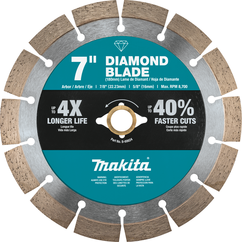 "Bricks 7/"" Diamond Saw Blade Segmented Dry for Cutting Concrete Blocks"