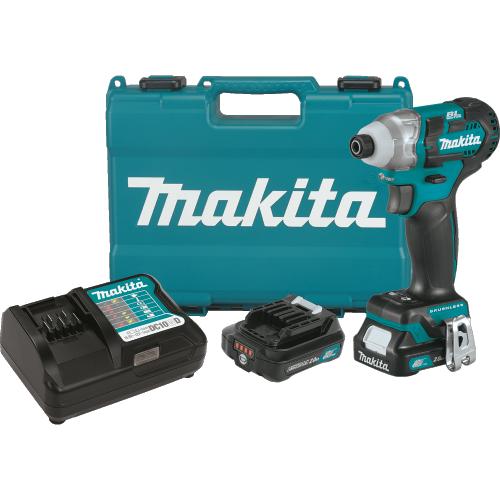 12V max CXT® Brushless Impact Driver Kit