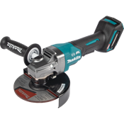 """40V max XGT® Brushless 6"""" Paddle Switch Angle Grinder, with Electric Brake"""
