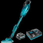 40V max XGT® Brushless 4-Speed HEPA Filter Compact Vacuum Kit (2.5Ah)
