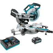 "40V max XGT® Brushless 8-1/2"" Dual-Bevel Sliding Compound Miter Saw Kit, AWS® Capable"
