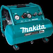 Quiet Series 1-1/2 HP, 3 Gallon, Oil-Free, Electric Air Compressor