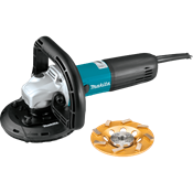 """5"""" SJS™II Concrete Planer with Dust Extraction Shroud and Diamond Cup Wheel"""