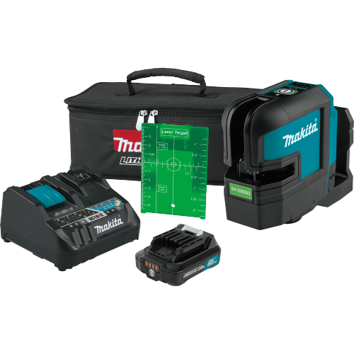 12V max CXT™ Self-Leveling Cross-Line Green Beam Laser Kit