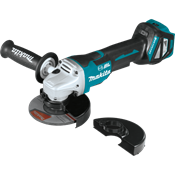 """18V LXT® Brushless 4-1/2"""" / 5"""" Paddle Switch Cut-Off/Angle Grinder"""
