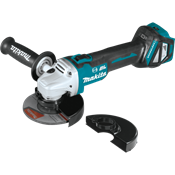 "18V LXT® Brushless 4-1/2"" / 5"" Cut-Off/Angle Grinder with AWS™"