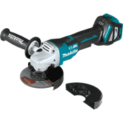"18V LXT® Brushless 4-1/2"" / 5"" Paddle Switch Cut-Off/Angle Grinder, AWS™"