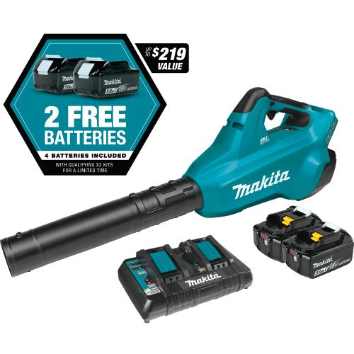 Juego de Sopladora LXT® de 18V X2 Sin Escobillas (36V) con 4 Baterías