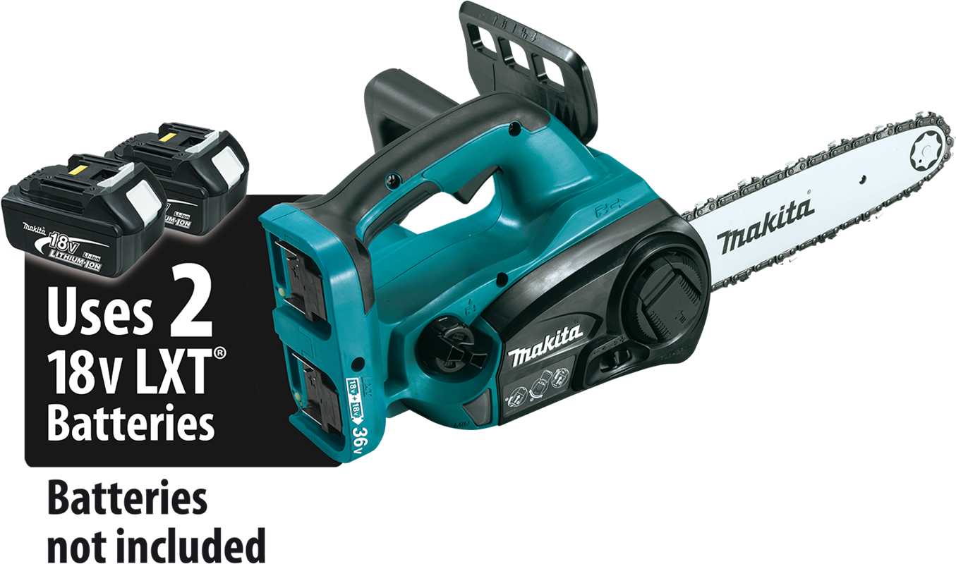 Makita usa product details xcu02z 18v x2 36v lxt lithiumion cordless 12 chain saw tool only greentooth Gallery