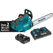 "18V X2 (36V) LXT® Brushless 16"" Top Handle Chain Saw Kit"