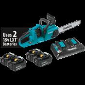 """18V X2 (36V) LXT® Brushless 14"""" Chain Saw Kit w/ 4 Batteries"""
