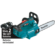 "18V X2 (36V) LXT® Brushless 14"" Top Handle Chain Saw"