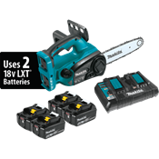 """18V X2 (36V) LXT® 12"""" Chain Saw Kit with 4 Batteries"""