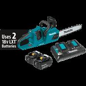 """18V X2 (36V) LXT® Brushless 14"""" Chain Saw Kit"""