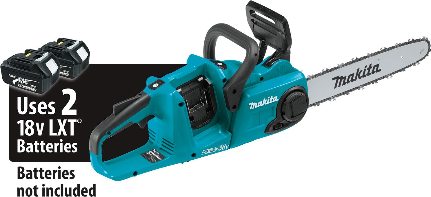 Makita usa product details xcu03z 18v x2 36v lxt lithiumion brushless cordless 14 chain saw tool only greentooth Choice Image