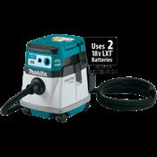 Extractor de Polvo/Aspiradora de 4 Galones c/Filtro HEPA LXT® de 18V X2 (36V) sin Escobillas, AWS®