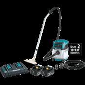 18V X2 (36V) LXT® 4 Gallon HEPA Filter Dry Dust Extractor/Vacuum Kit
