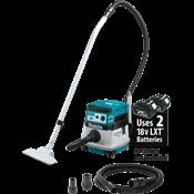 Extractor de Polvo en Seco de 2.1 Galones con Filtro HEPA LXT® de 18V X2 Sin Escob. (36V), con AWS™
