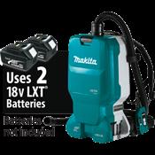 18V X2 LXT® Brushless 1.6 Gal. HEPA Filter Backpack Dust Extractor, AWS™ Capable