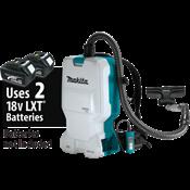 18V X2 LXT® (36V) Brushless 1.6 Gallon HEPA Filter Backpack Dry Vacuum