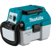 18V LXT® Brushless 2 Gallon HEPA Filter Portable Wet/Dry Dust Extractor/Vacuum