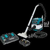 18V X2 LXT® (36V) 2.1 Gallon HEPA Filter Dry Dust Extractor/Vacuum Kit