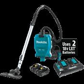 18V X2 LXT® (36V) Brushless 1/2 Gallon HEPA Filter Backpack Dry Vacuum Kit