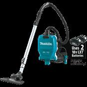 18V X2 LXT® (36V) Brushless 1/2 Gallon HEPA Filter Backpack Dry Vacuum