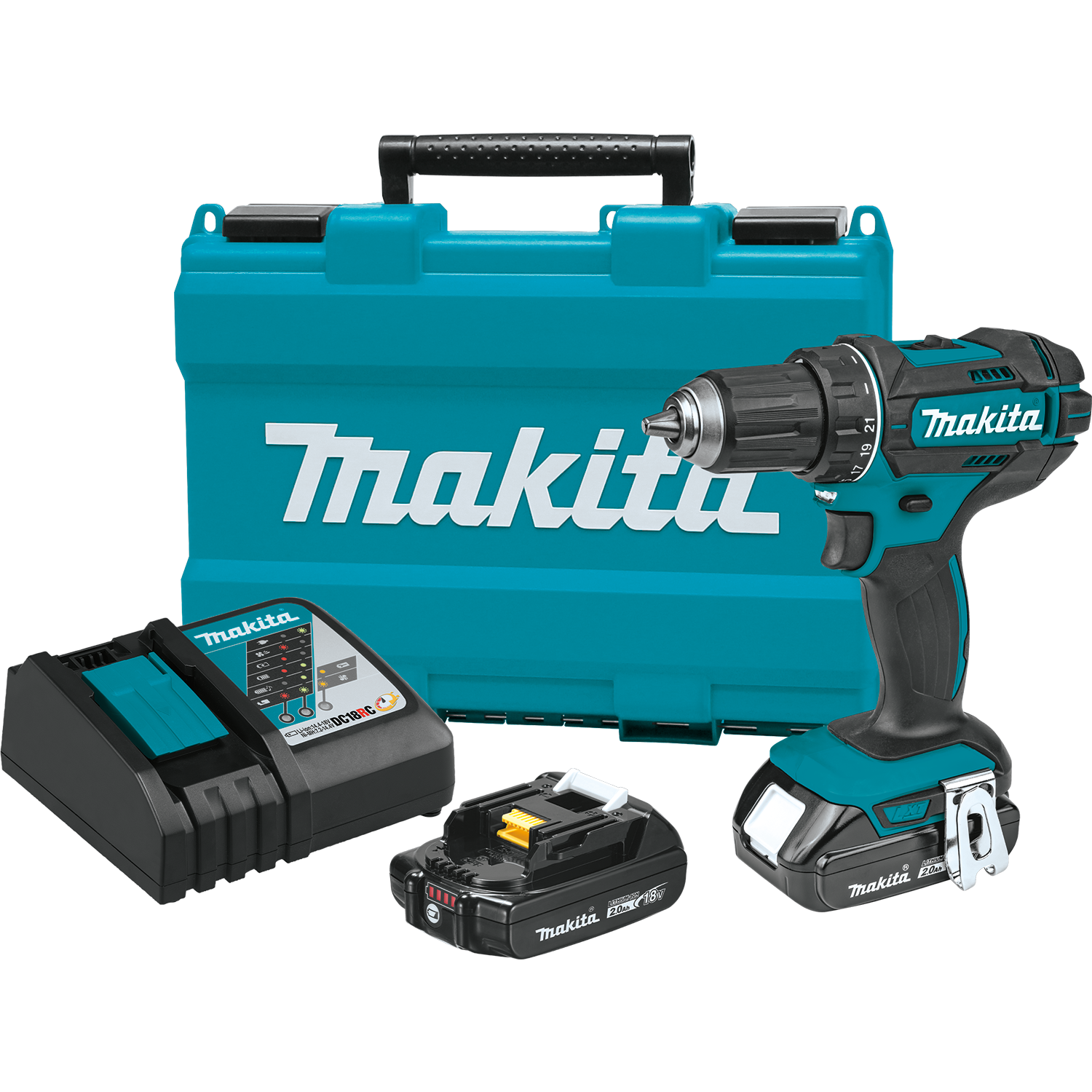 """MAKITA*XFD01Z*18 Volt*LXT Lithium-Ion Cordless 1//2/"""" Drill//Driver*Tool Only*New!"""