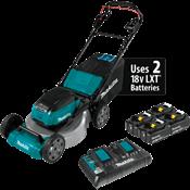 """18V X2 (36V) LXT® Brushless 18"""" Self-Propelled Lawn Mower Kit w/ 4 Batteries"""