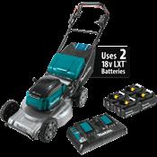 """18V X2 (36V) LXT® Brushless 21"""" Self-Propelled Commercial LawnMowerKit w/ 4 Batt"""