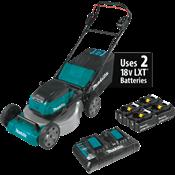 """18V X2 (36V) LXT® Brushless 21"""" Lawn Mower w/ 4 Batteries"""