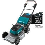 """18V X2 (36V) LXT® Brushless 21"""" Self-Propelled Commercial Lawn Mower"""