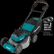 """18V X2 (36V) LXT® Brushless 21"""" Self-Propelled Lawn Mower"""