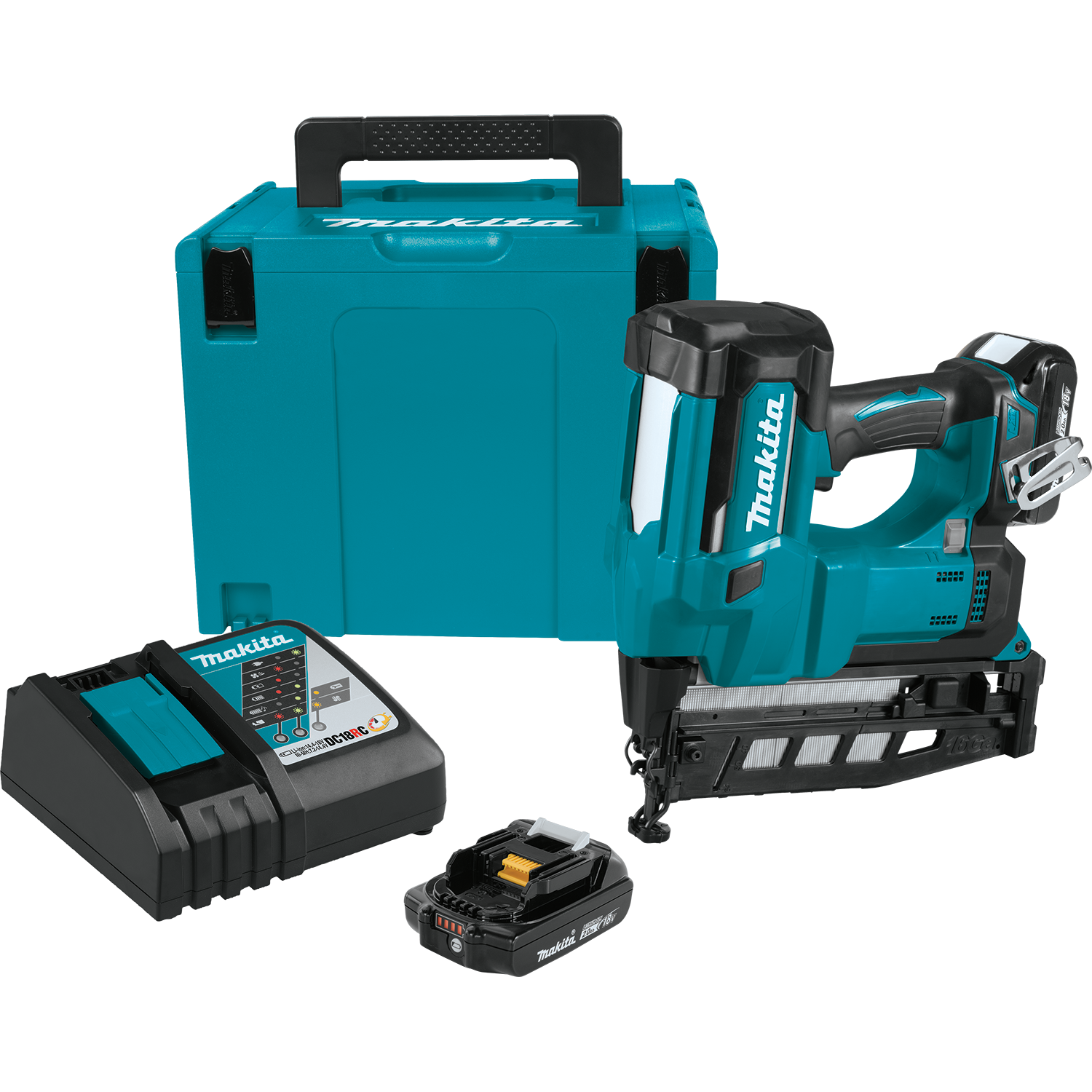 Makita 18V Cordless Brad Nailer LXT Lithium-Ion 18-Gauge Anti-Dry Fire Tool Only