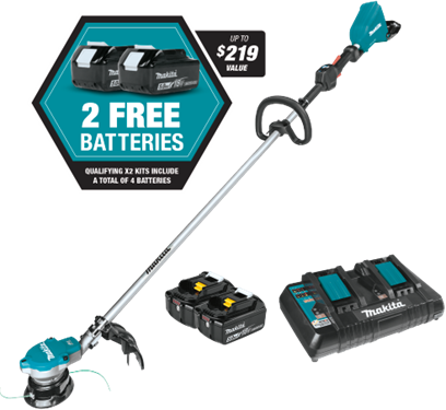 18V X2 (36V) LXT® Brushless String Trimmer Kit