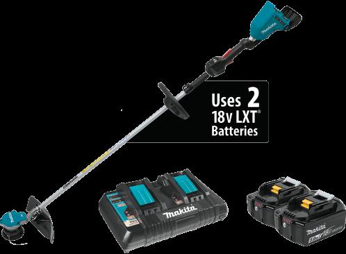 18V X2 (36V) LXT® Lithium-Ion Brushless Cordless String Trimmer Kit (5.0Ah)