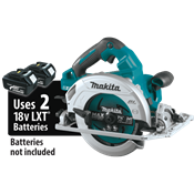 """18V X2 LXT® (36V) Brushless 7-1/4"""" Circular Saw with Guide Rail Compatible Base"""