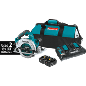 """18V X2 LXT® (36V) BL™ 7-1/4"""" Circular Saw Kit with Guide Rail Compatible Base"""