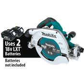 """18V X2 LXT® (36V) Brushless 9-1/4"""" Circular Saw with Guide Rail Compatible Base"""