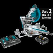 """18V X2 LXT® (36V) Brushless 12"""" Dual-Bevel Sliding Cmpd Miter Saw Kit, AWS™ Cpbl"""
