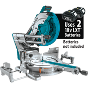 "18V X2 LXT® (36V) Brushless 12"" Dual-Bevel Sliding Compound Miter Saw"