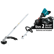 18V X2 (36V) LXT® Brushless Couple Shaft Power Head with Trimmer Attachment